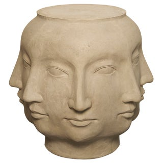 Multi-Face Stool, Fiber Cement For Sale