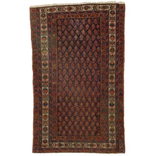 RugsinDallas Hand-Knotted Wool Persian Malayer Rug - 4′3″ × 6′1 For Sale