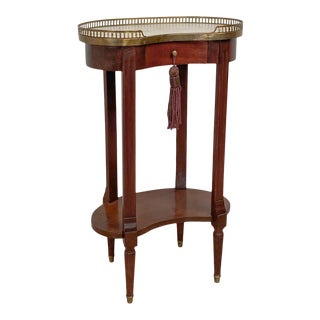 1850 Louis XVI Style Kidney Shaped Table For Sale