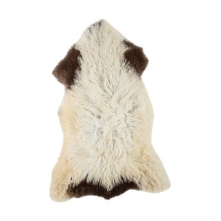 """Contemporary Natural Sheepskin Pelt - 2'3""""x3'7"""" For Sale"""