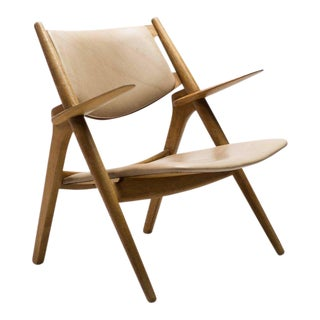 Hans Wegner CH-28 Sawbuck Chair For Sale