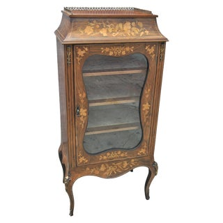 19th Century Rosewood Sheet Music Cabinet For Sale