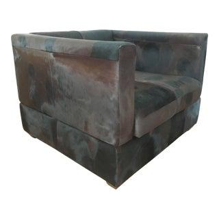 Natural Cowhide Modern Chair