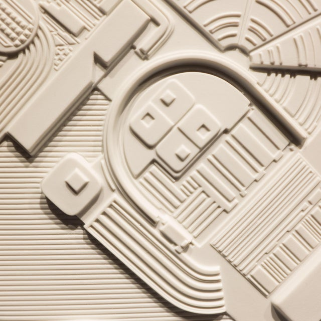 Eduardo Paolozzi Plaque for Rosenthal For Sale - Image 5 of 9