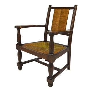 1950s Vintage Art Deco Armchair For Sale