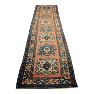 "Vintage Turkish Runner - 2'11"" X 12'7″"