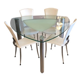 Contemporary Chintaly Tracy Dining Set