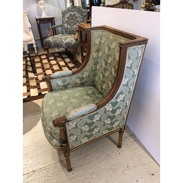 French Ladies French Bergère Armchair For Sale - Image 3 of 13