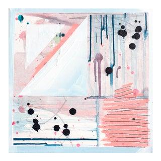 """BubbleYum VI"" Original Mixed Media Painting"