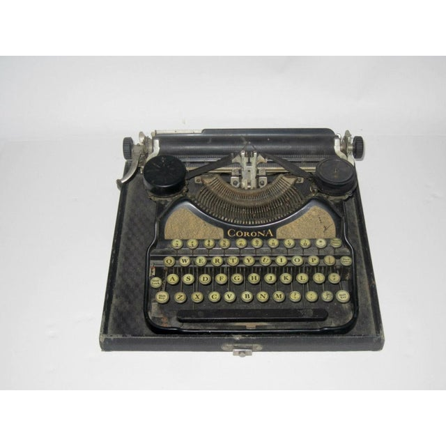 Corona Art Deco Typewriter - Image 2 of 7