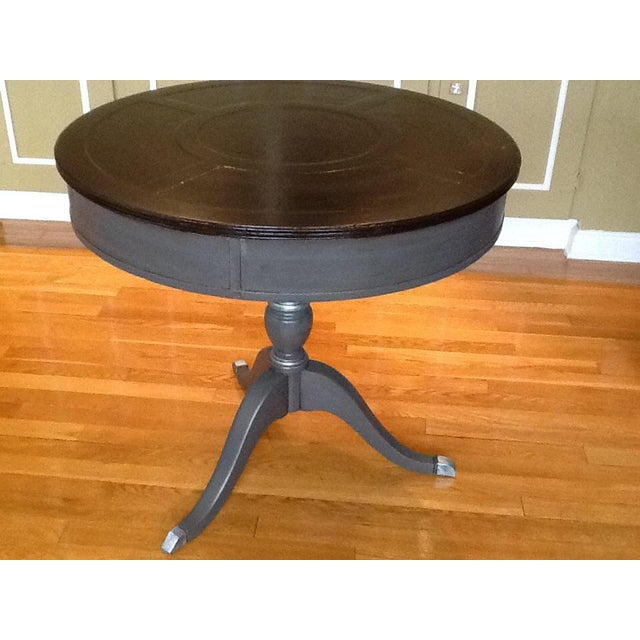 Upcycled Vintage Drum Table For Sale - Image 9 of 11