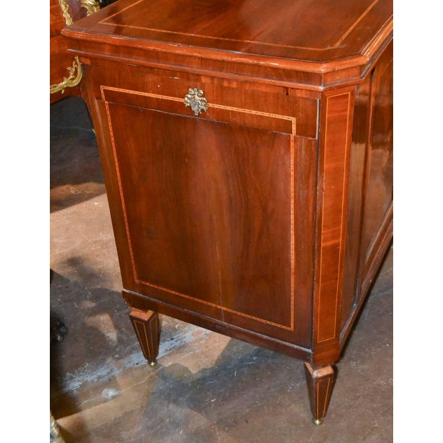 Very Fine English Inlaid Server / Bar For Sale In Dallas - Image 6 of 10