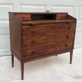 Mid-Century Rosewood Secretary Desk Preview