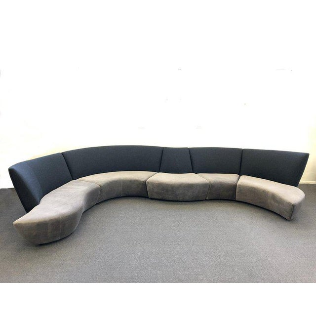 Five Piece Sectional Sofa by Vladimir Kagan for Preview For Sale - Image 13 of 13