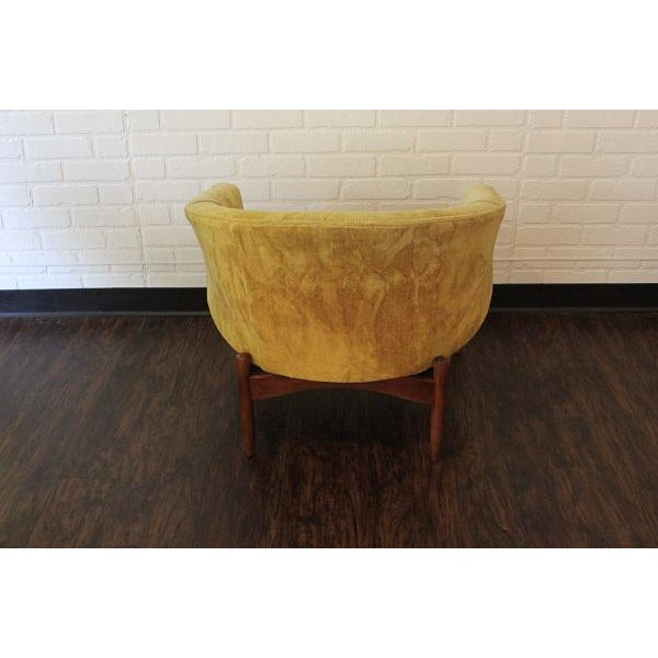 1960s Lawrence Peabody Lounge Chair For Sale - Image 5 of 6