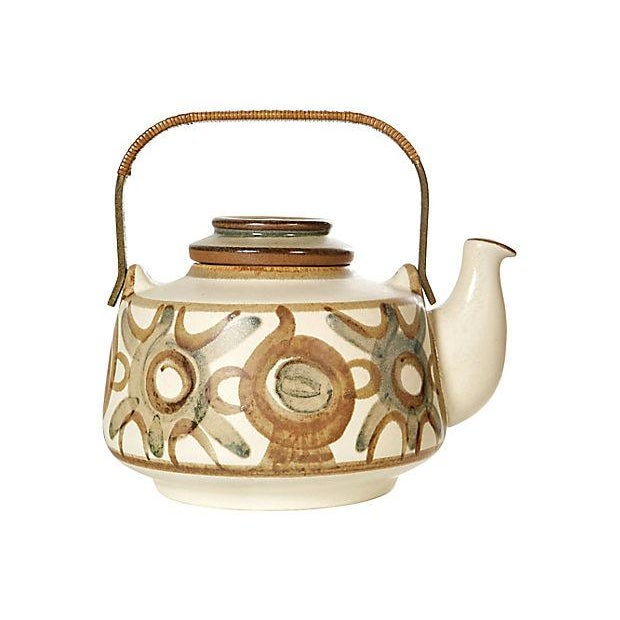 Søholm Denmark Hand-Painted Teapot For Sale In Boston - Image 6 of 6