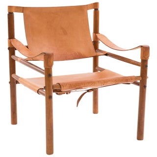1960s Arne Norell Safari Sling Chair For Sale