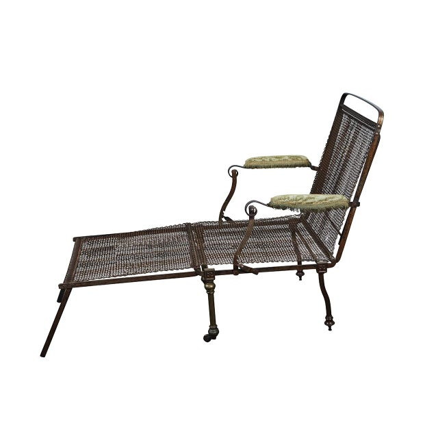 English Campaign Chair/Bed For Sale - Image 10 of 10