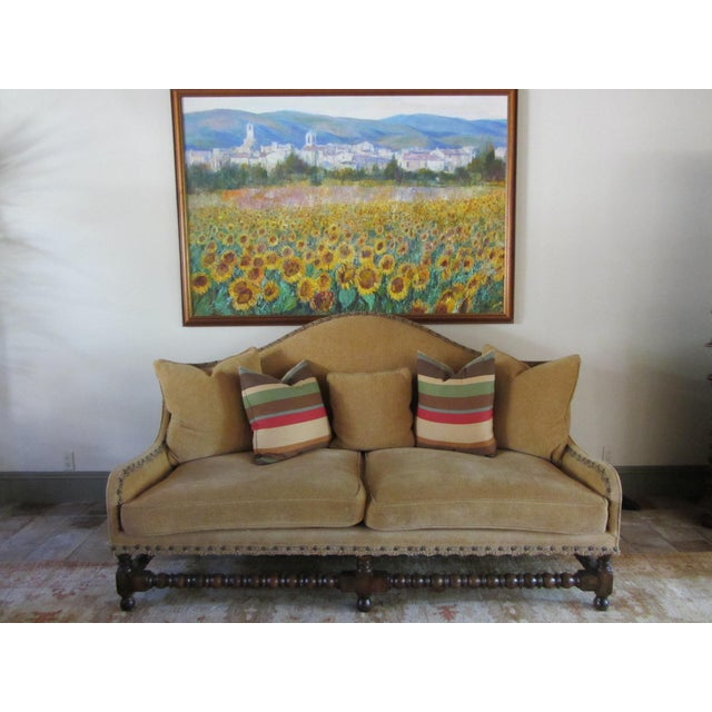 Mediterranean Tuscan Landscape Oil by Anton Sipos For Sale - Image 3 of 7