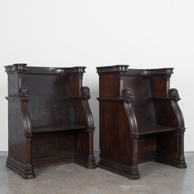 19th Century French Choir Stalls - a Pair For Sale - Image 4 of 13