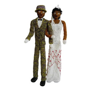 Nigerian Beaded Wedding Dolls For Sale