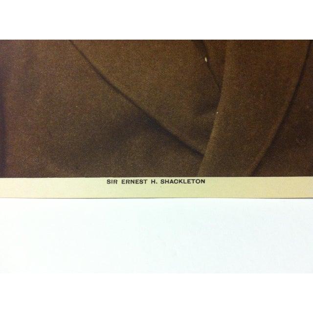"Portraiture Circa 1915 ""Sir Ernest H. Shackleton"" the Mentor Association Print For Sale - Image 3 of 4"