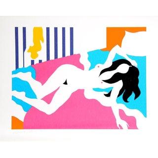 "Michael Young ""Morning Pattern"" Serigraph Print"