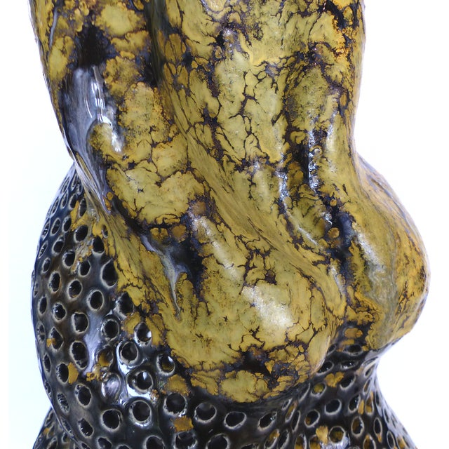 Pierced Mermaid Sculpture by Gary Fonseca For Sale - Image 9 of 11