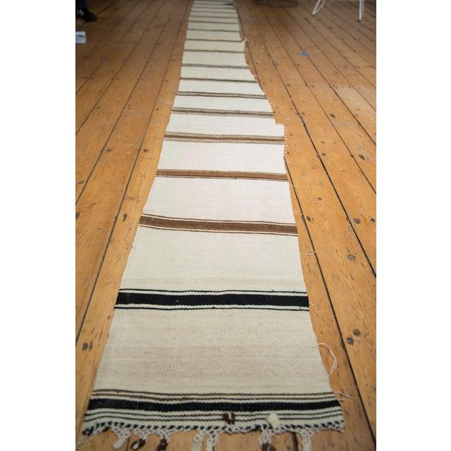 Vintage Fragment Turkish Kilim Rug Runner For Sale In New York - Image 6 of 11