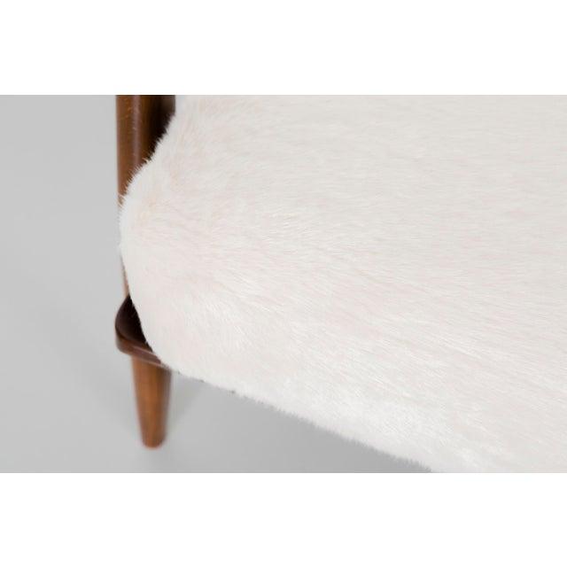 Brown Ib Kofod-Larsen for Selig Teak Wood Sofa For Sale - Image 8 of 13