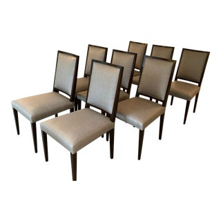 Artistic Frame Tigris Armless Dining Chairs - Set of 8 For Sale