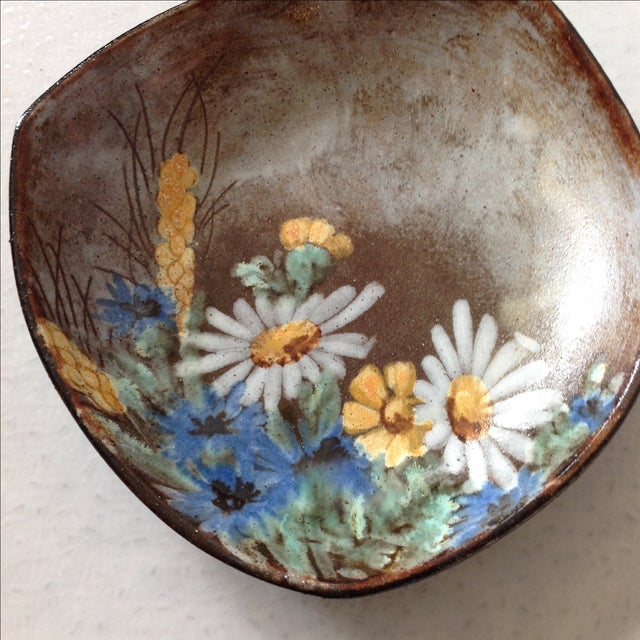 Alexandre Kostanda French Art Pottery Bowl - Image 7 of 11