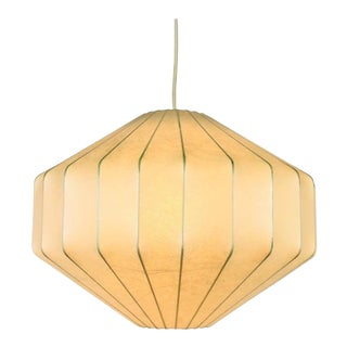 Achille Castiglioni Losange Cocoon Pendant Lamp, 1960s, Italy For Sale