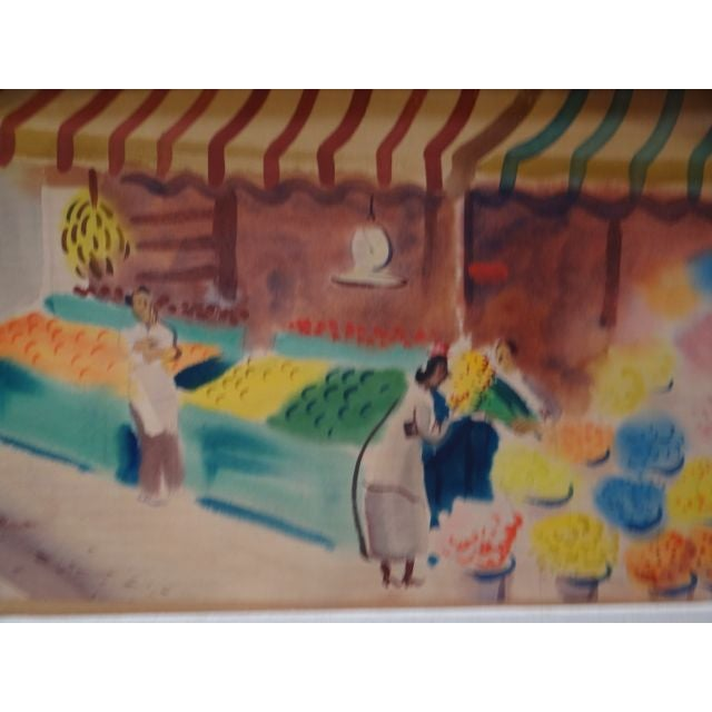 Charles Payzant Double-Sided Western Watercolor For Sale - Image 4 of 8