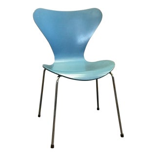 Modern Arne Jacobsen for Fritz Hansen Series 7 Chair For Sale