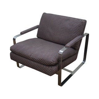 Bernhardt Flair Lounge Chair Milo Baughman Era For Sale