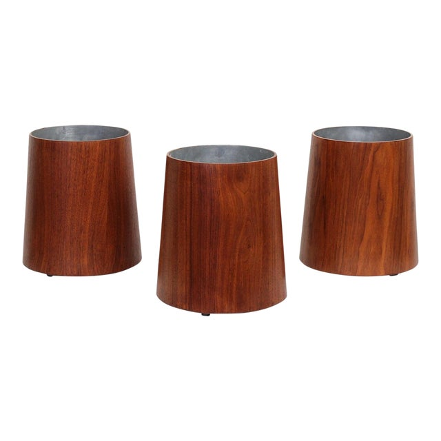 Collection of Jens Risom Wastebaskets For Sale