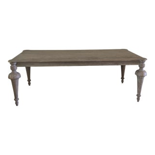 French Farmhouse Dining Table For Sale