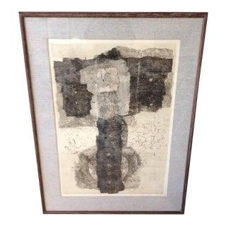 "Francisco Larez 1965 Lithograph, ""Paco"" For Sale"