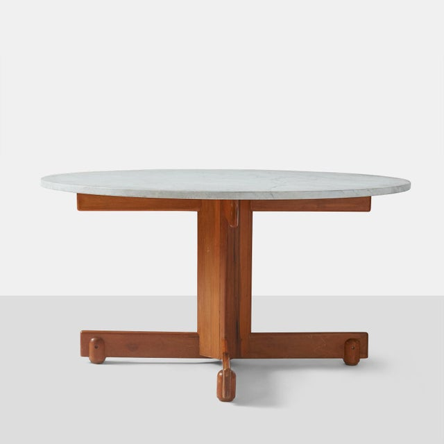 "Mid-Century Modern Sergio Rodrigues ""Alex"" Dining Table For Sale - Image 3 of 7"