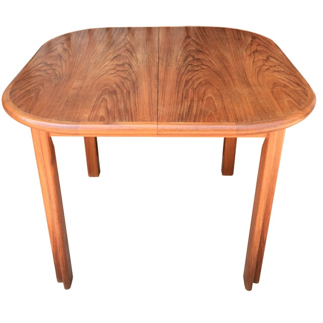 Dscan Expanding Teak Table - Image 1 of 11