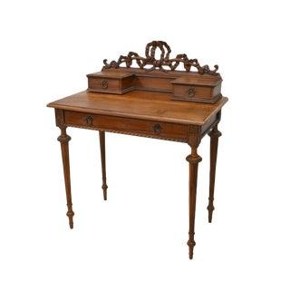 19th Century French Bureau De Dame Louis XVI à Gradin Lady's Writing Desk For Sale