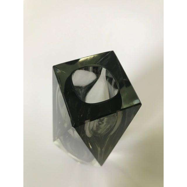 Mid-Century Modern Murano Art Glass Vase by Mandruzzato For Sale In Chicago - Image 6 of 9