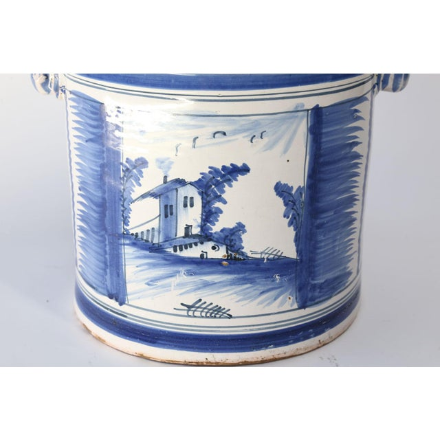 Nevers Faience 'Pot a Oranger' For Sale - Image 4 of 13