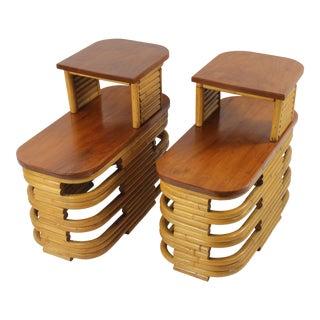 Vintage Paul Frankli End Tables - a Pair For Sale