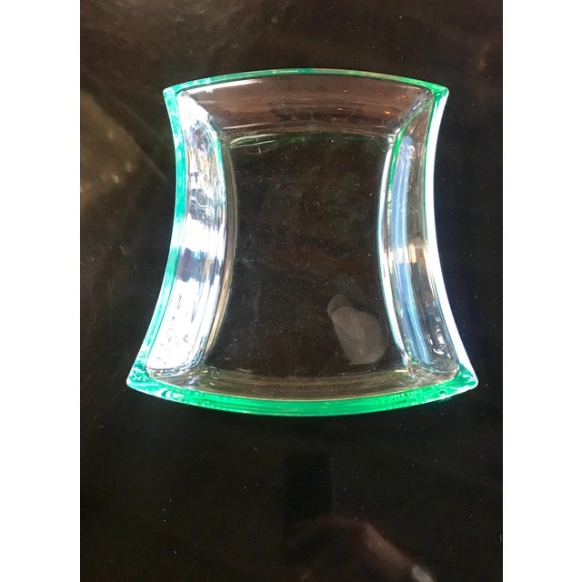 Fontana Arte Fontana Arte Aquamarine Glass Bowl For Sale - Image 4 of 8