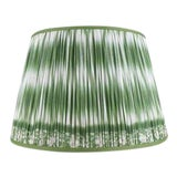"Image of Ikat Printed Lamp Shade 14"", Asparagus For Sale"