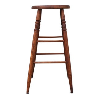 Shaker Style Weavers Stool from New England For Sale