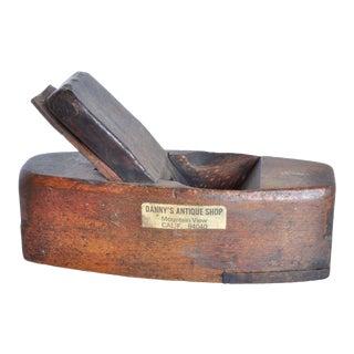 Antique Wood Block Planer For Sale