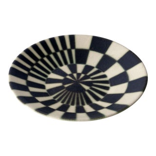 1960s Mid-Century Arabia Finland Target Pattern Platter For Sale